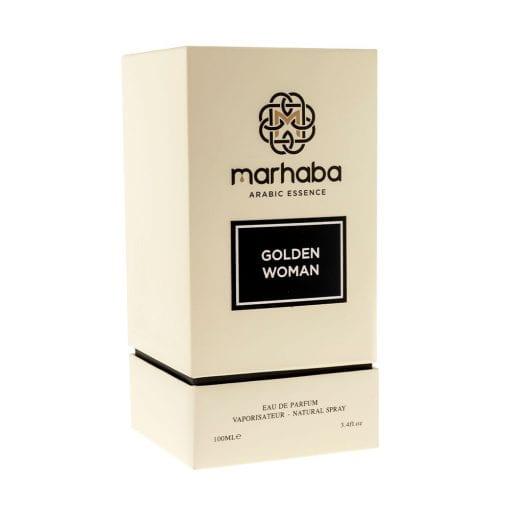 Woman in Gold - Parfumuri Pudrate - Marhaba Dubai - Calitate Arabeasca - Parfum Elegant - Parfum Dulce - Pudrat