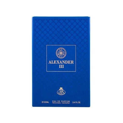 Alexander III - Cadou Inedit - Parfum Fresh - Parfum Clasic - Aromat - Cadoul Perfect - For Him - Ambalaj Premium - Ambalaj Cartonat