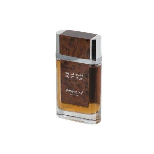 Just Oud - Boulevard Edition - Lattafa - 80 ml - Parfum Arabesc - Rădăuți - For Him - Oud - Lemn de Agar