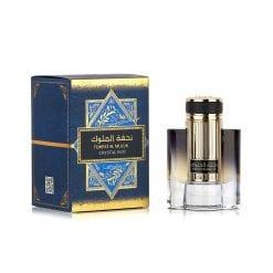 Tohfat Al Muluk - Crystal Oud - Lattafa- 80 ml - For Him - Oud - Lemn de Agar - Băilești - Parfum Arabesc - Oriental
